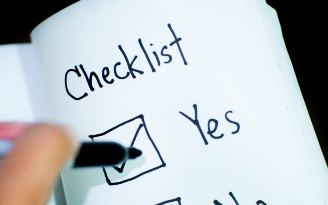 Here's a great Checklist to help you prepare and gather information for your Audit or Assurance Review.