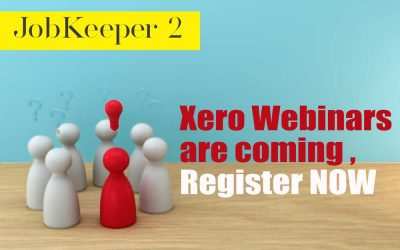 Jobkeeper 2 is coming to Xero – Register Now for the Essential Upcoming Xero Webinars