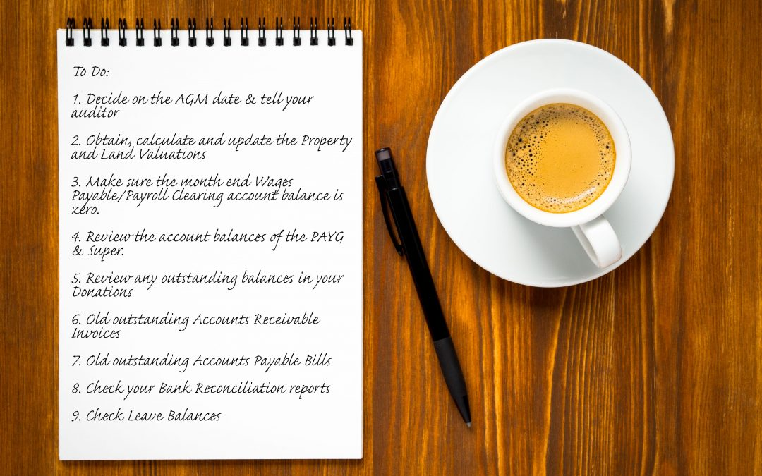 9 Things YOU can do NOW to prepare for calendar year Audit Preparation